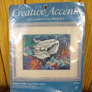 Brand New! Cross stitch Dolphin Pattern